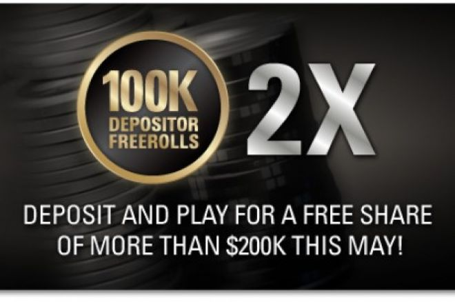 Až $200,000 ve freerollech za vklad na Pokerstars! 0001
