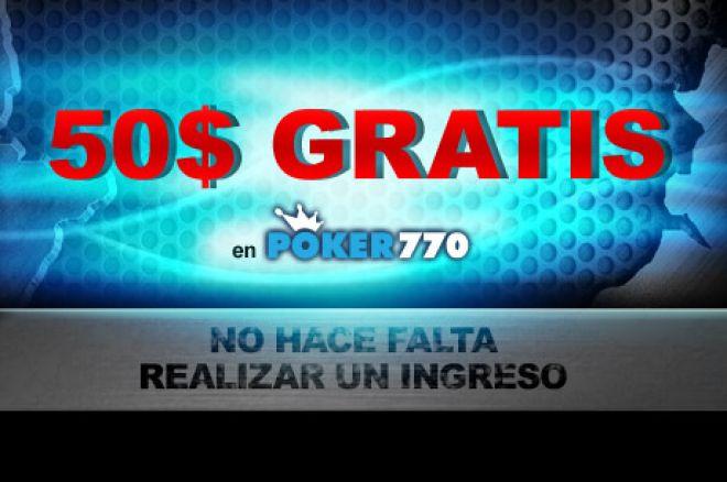 50$ gratis con Poker770