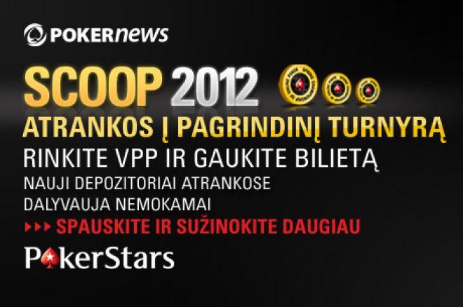 Laimėkite PokerStars SCOOP pagrindinio turnyro bilietus PokerNews nemokamuose turnyruose! 0001