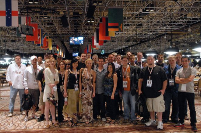 The 2010 PokerNews WSOP Team