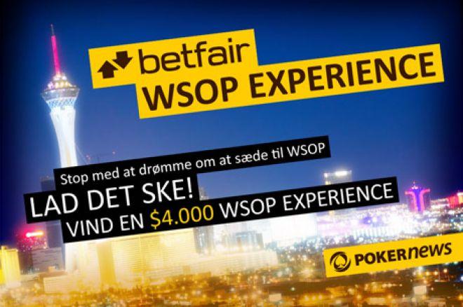 Kom med Betfair til WSOP med en eksklusiv kampagne. 0001