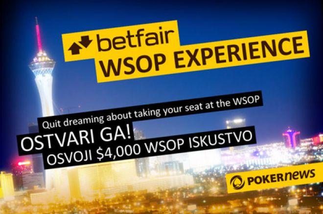 Betfair Može Odvesti PokerNews Igrače na WSOP sa Ekskluzivnom Promocijom 0001