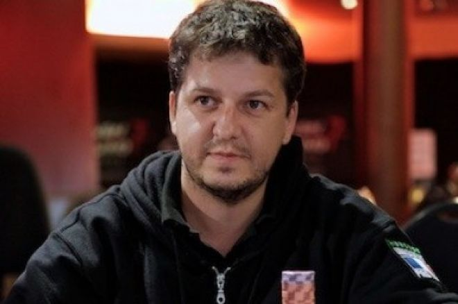 Jimmy Gillot, chip leader del Día 1