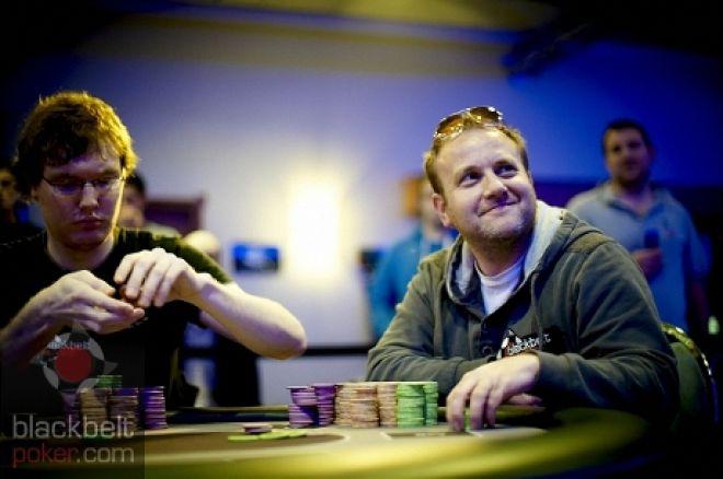 Stuart Hyson (Right): Photo credit: Blackbelt Poker.com
