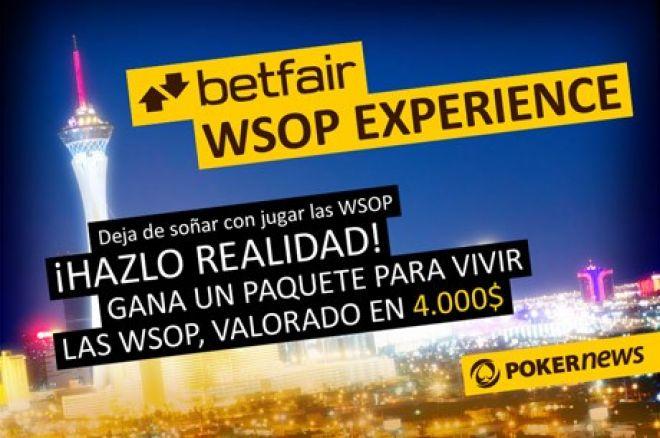 Betfair te lleva a las WSOP