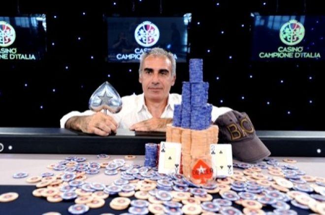 Antonino Venneri, campeón