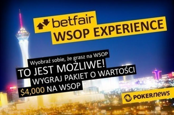 Wyleć do Las Vegas na World Series of Poker z Betfair 0001