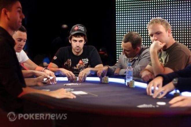Mercier również odniósł sukces w drugim evencie WSOP 0001