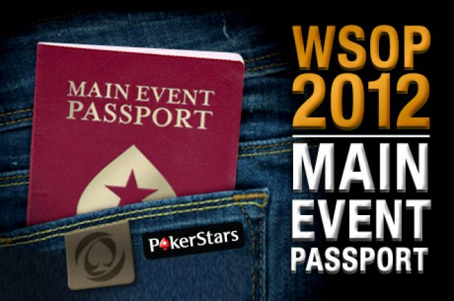 Ceļo apkārt pasaulei ar PokerStars Main Event Passport 0001