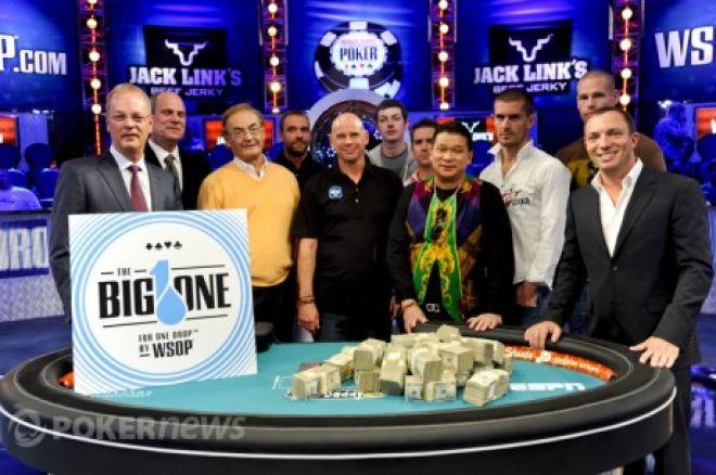 42 graczy potwierdzonych w Big One for One Drop 0001