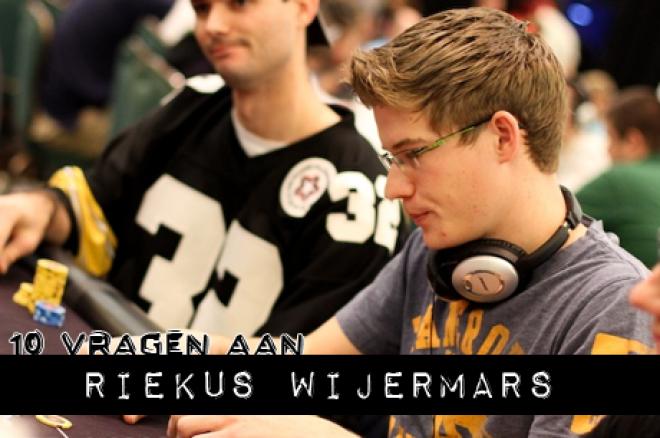 10 Vragen aan: Riekus Wijermars