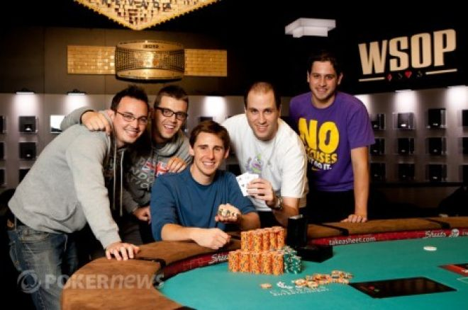 World Series of Poker 2012 День 16: Бенджамин Шоль и Клифф... 0001