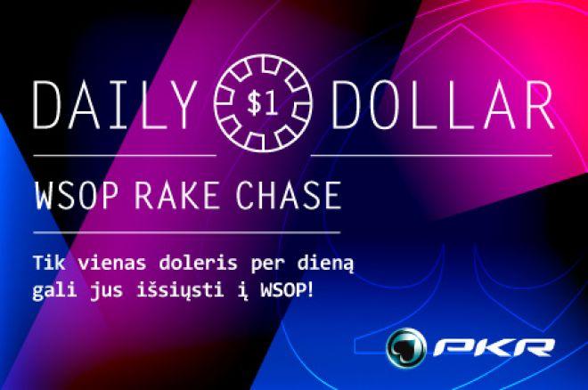 Daily Dollar WSOP Rake Race