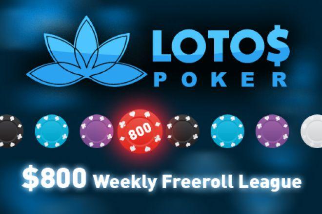 $800 PokerNews Ліга на LotosPoker: результати третього фріролу 0001