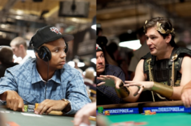 2012 World Series of Poker Dag 22: Ivey og Hellmuth kjemper om bracelet 0001