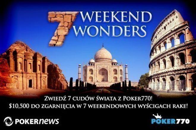 Wspnij się na Wielki Mur Chiński w promocji 7 Weekendowych Cudów na Poker770 0001