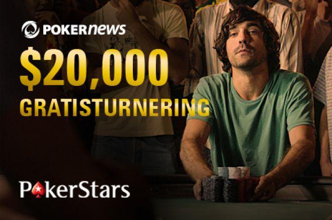Vinn stort i vår eksklusive PokerNews $20 000 Freeroll 0001