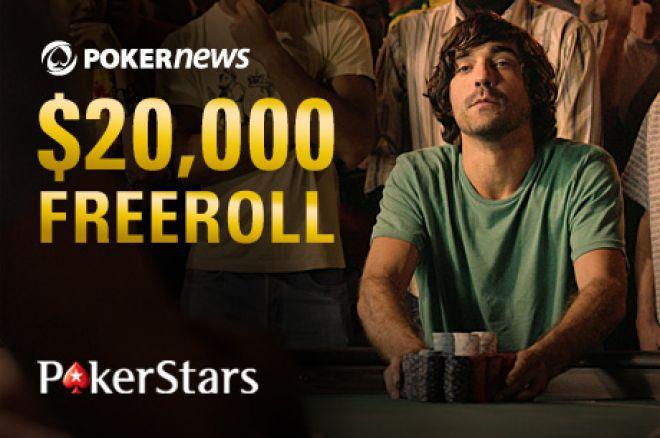 Win Big In The Exclusive PokerNews $20,000 Freeroll 0001