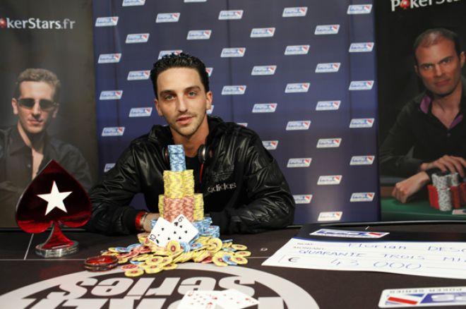 France Poker Series Гжан-Местра: Флориан Десгуттес... 0001