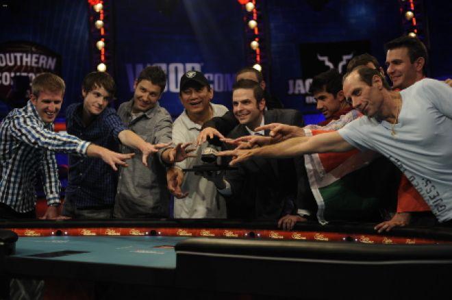 WSOP Main Event final table set