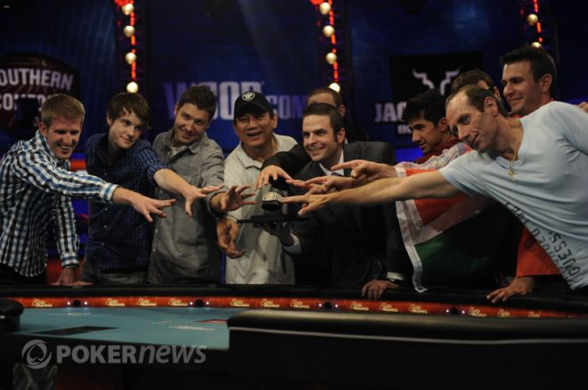 Jesse Sylvia Leads 2012 World Series of Poker Main Event Final Table; Baumann Bubbles 0001