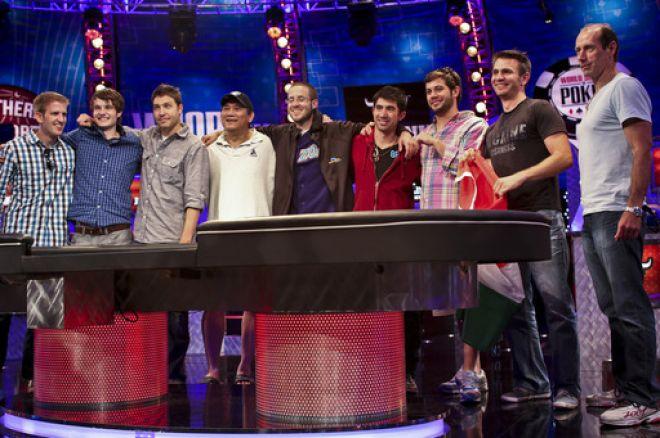 2012 WSOP主赛事最终桌产生 0001