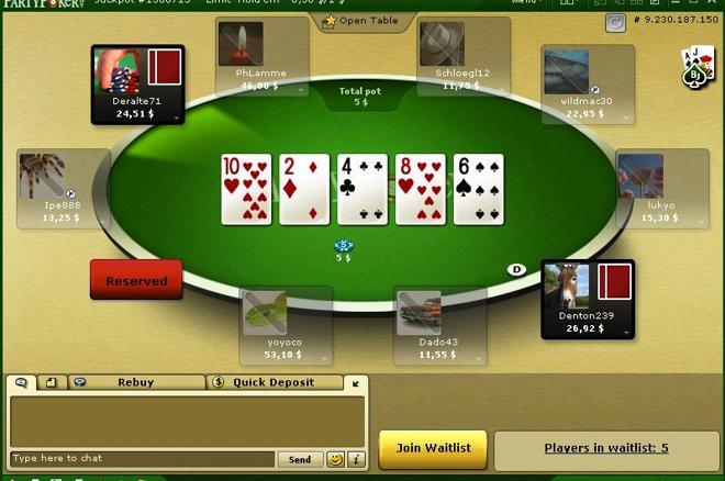 PartyPoker取消超高额桌扑克游戏 0001