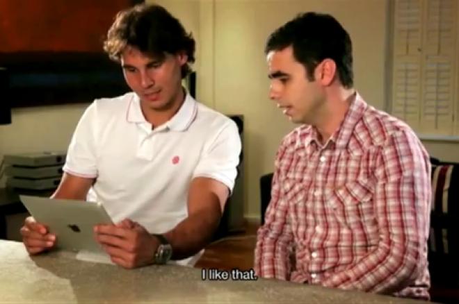 Рафаел Надал първа покер ръка