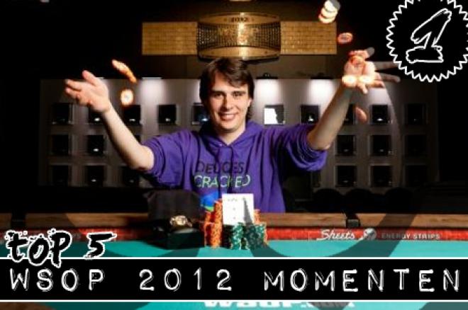 PokerNews WSOP 2012 TOP 5   Nummer 1: Bracelet voor Vincent van der Fluit