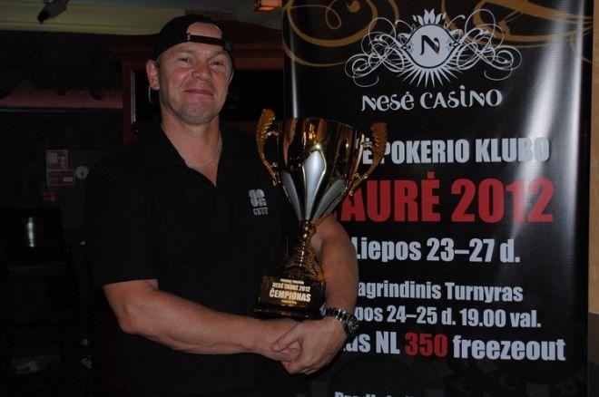 """Blicas: lietuviai šturmuoja internetines atrankas, """"Nesės taurės 2012"""" čempionas ir kita 0001"""