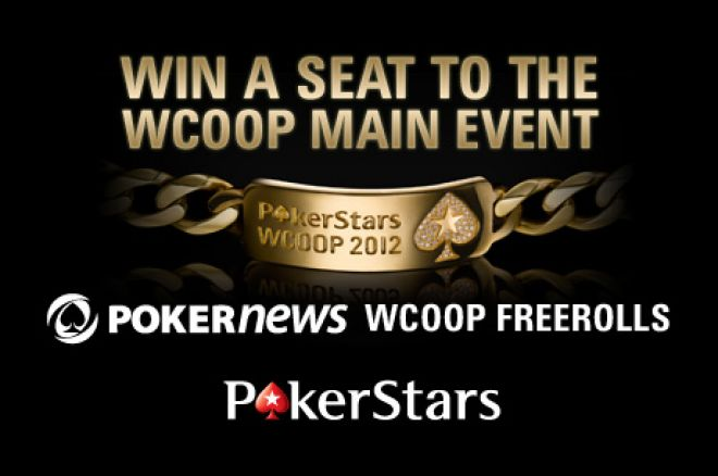 Win Your Way To A $5,200 WCOOP Main Event Seat In Our Exclusive Freerolls 0001