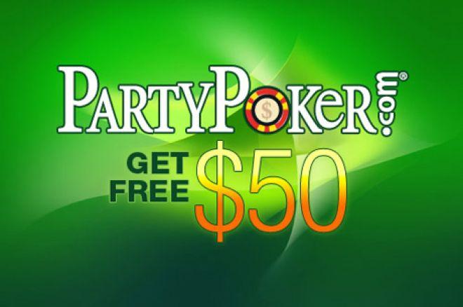 Motta $50 gratis fra PartyPoker og Poker770 0001