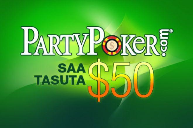 TASUTA $50 bankroll maailma suuruselt teises pokkeritoas! 0001