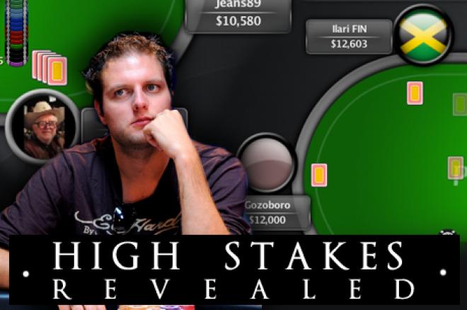High Stakes Revealed - Van der Sman houdt de High Stakes voor gezien
