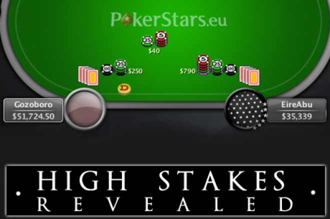 "High Stakes Revealed - ""EireAbu"" voor $550.000 onderuit"