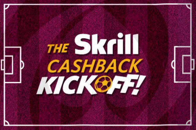 Zbierz 4x więcej punktów lojalnościowych w promocji Skrill Cashback Kickoff 0001