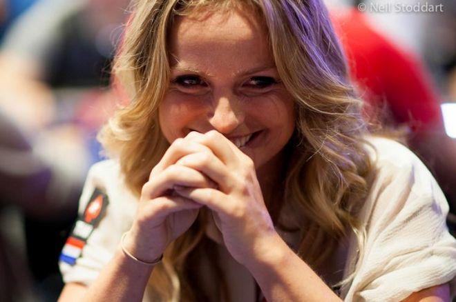 PokerStars EPT Barcelona: Fatima Moreira de Melo als vijfde stack naar dag 4