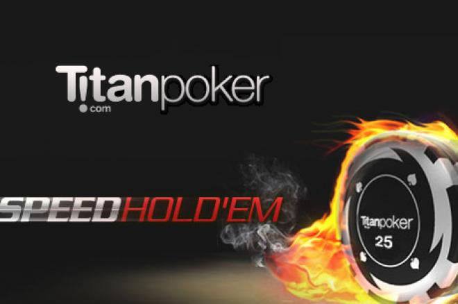 Speel razensnel met Speed Poker op Titan Poker!
