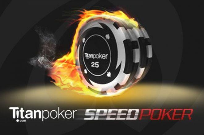 Opplev rushet ved Speed Poker hos Titan Poker 0001