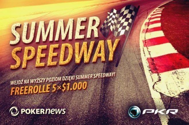 Zakwalifikuj się do kolejnego freerolla promocji $5,000 Summer Speedway na PKR! 0001