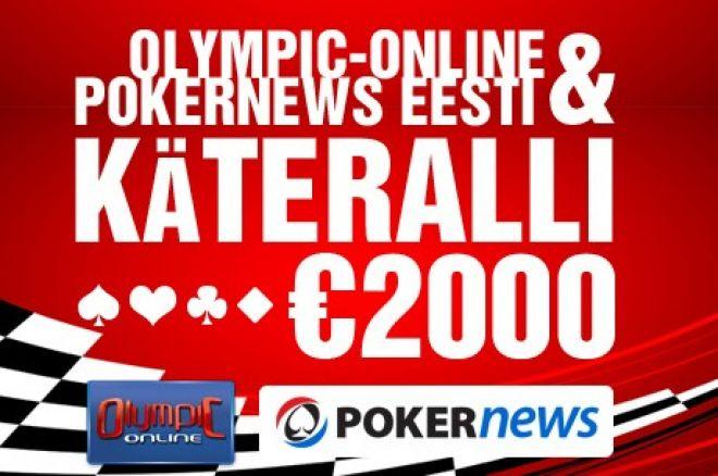 Pokernews Eesti €2000 käteralli
