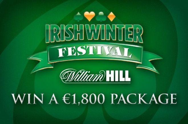 Wygraj pakiet all-inclusive na Irish Winter Festival o wartości €1,800 na William Hill 0001