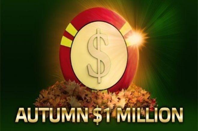 PartyPoker Weekly: Wygraj część z puli $1 miliona w Autumn Million 0001