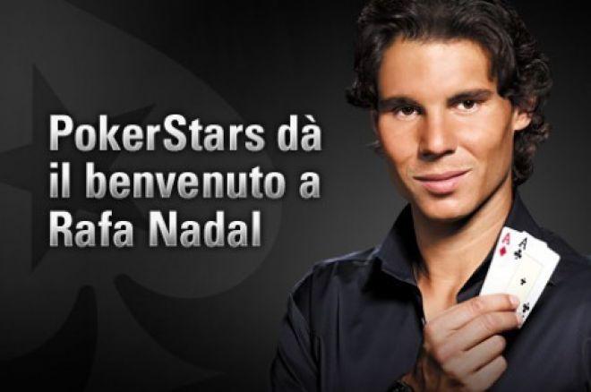 Rafa serve un ace nella nuova campagna pubblicitaria di Pokerstars 0001