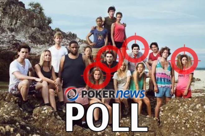 PokerNews POLL - Wi gaat het goed doen in Expeditie Robinson?