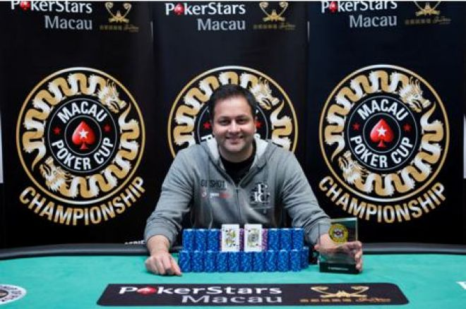 Sameer Rattonsey, winner of Event 6: HK$ 4000 NLHE