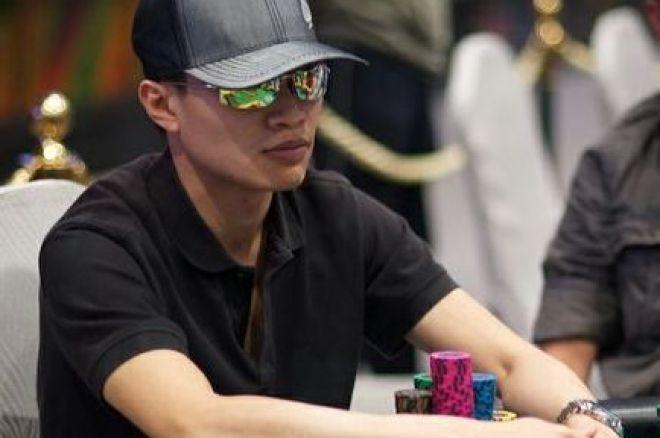 Edmund Lee:领跑澳门扑克杯主赛事Day-1 0001
