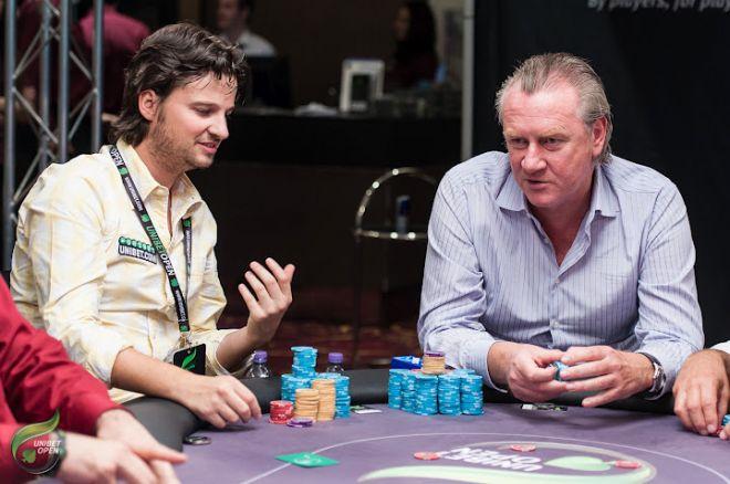 Unibet Open Londen: Paul Valkenburg chipleader aan de finaletafel!
