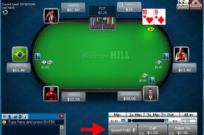 Earn Your Share of $1,500 with William's Hill Weekly Speed Poker Ranked Hands Leaderboard 0001