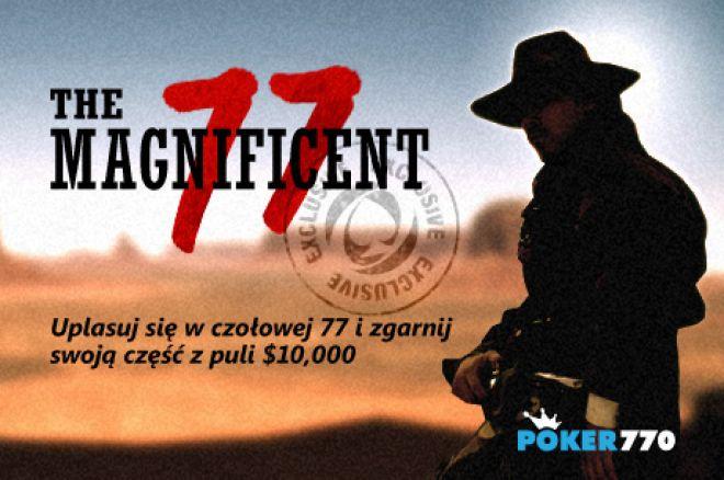 Wygraj część z puli $10,000 w turnieju The Magnificent 77 na Poker770 0001